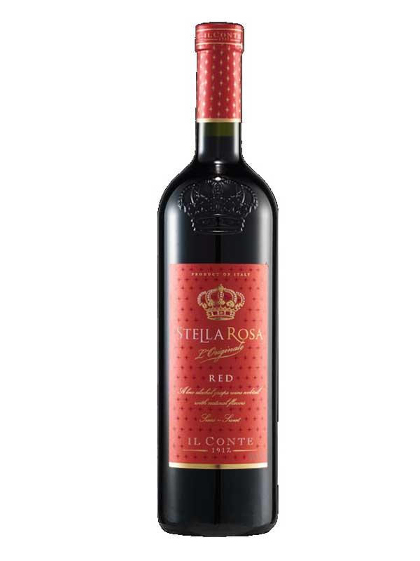 Stella Rosa Wines - Il Conte Stella Rosa Red Semi-Sweet ...