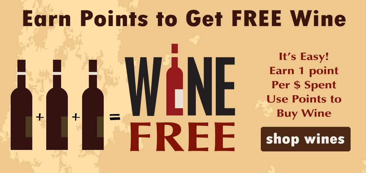Earn Points at WeSpeakWine.com go get free wine