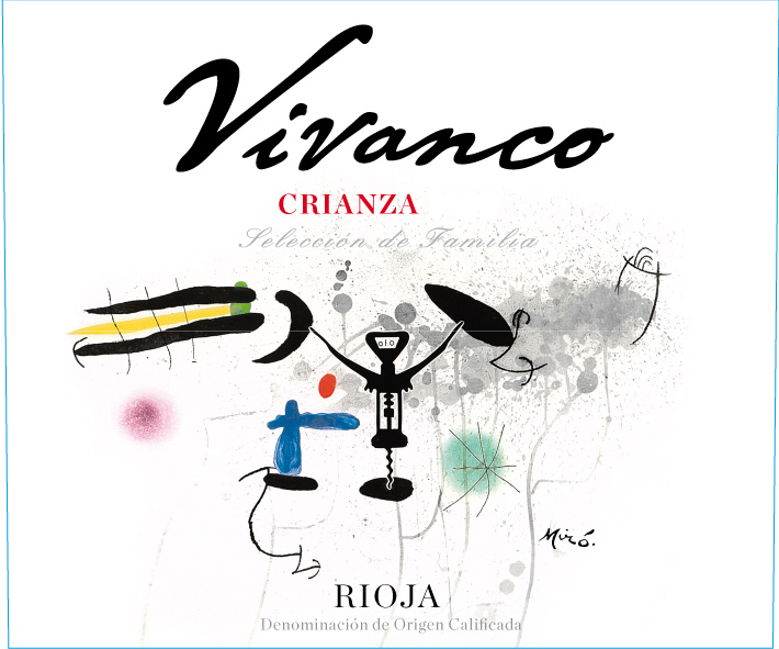 Dinastia Vivanco Rioja Seleccion de Familia Crianza 2009 750ML Label