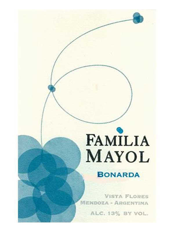 Familia Mayol Bonarda Vistas Flores Mendoza 2013 750ML Label
