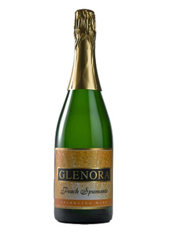 Glenora Wine Cellars Peach Spumante Finger Lakes NV 750ML Bottle