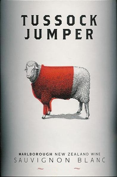 Tussock Jumper Sauvignon Blanc Marlborough 2014 750ML Label