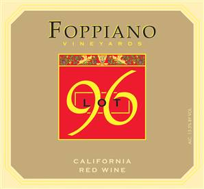 Foppiano Vineyards Lot 96 Red Blend NV 750ML - 96805006