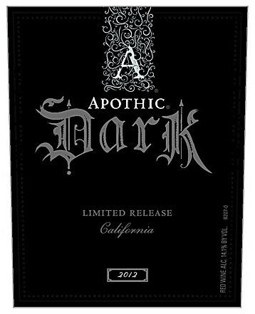 Apothic Dark Red Blend 2012 750ML - 989167975