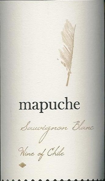 Mapuche Sauvignon Blanc Central Valley 2011 750ML - 94CRCH01011
