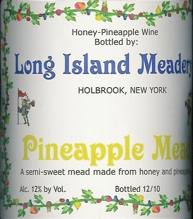 Long Island Meadery Pineapple Mead Long Island NV 750ML