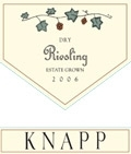 Knapp Winery Dry Riesling Finger Lakes 750ML