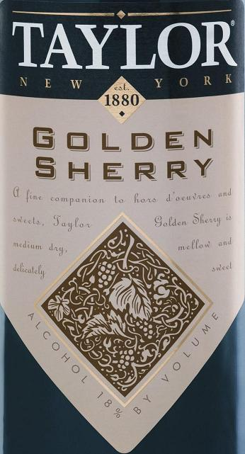 Taylor Golden Sherry NV 750ML - 9956437