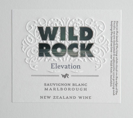 Wild Rock Elevation Sauvignon Blanc Marlborough 2010 750ML - 989150992