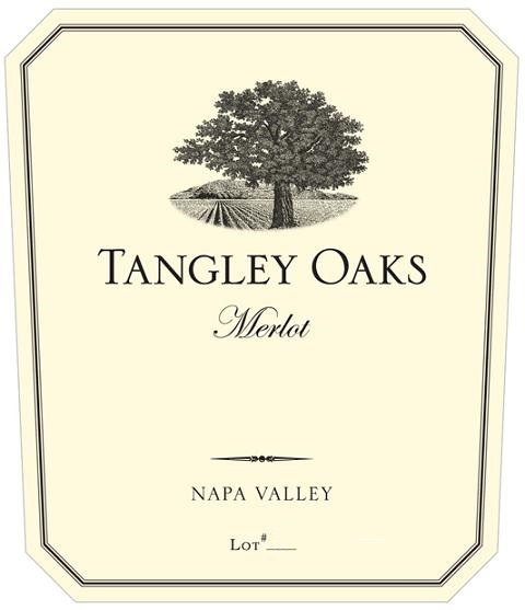 Tangley Oaks Merlot Napa Valley 2010 750ML - 98903084510