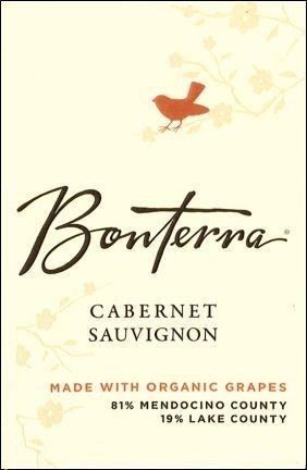 Bonterra Vineyards Cabernet Sauvignon Mendocino County 2010 750ML - 981034040