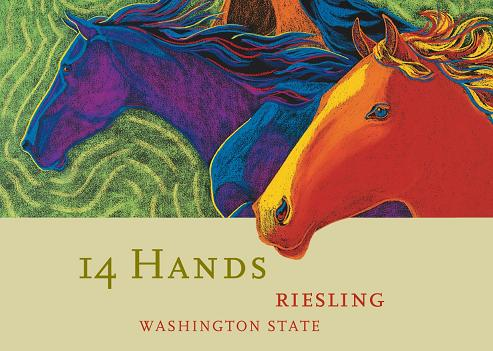 14 Hands Riesling 2010 750ML - 99155038