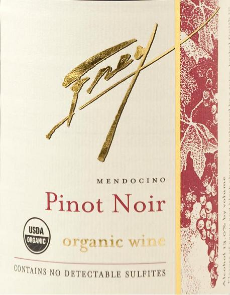 Frey Vineyards Pinot Noir Mendocino 2012 750ML - 82FPN12