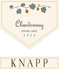 Knapp Winery Chardonnay Lake Series Finger Lakes 750ML