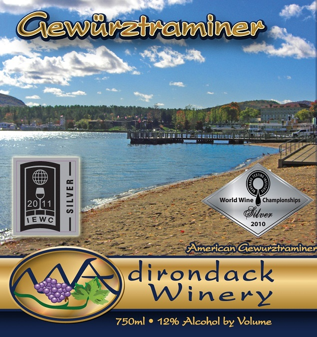 Adirondack Winery Gewurztraminer NV 750ML - 421005