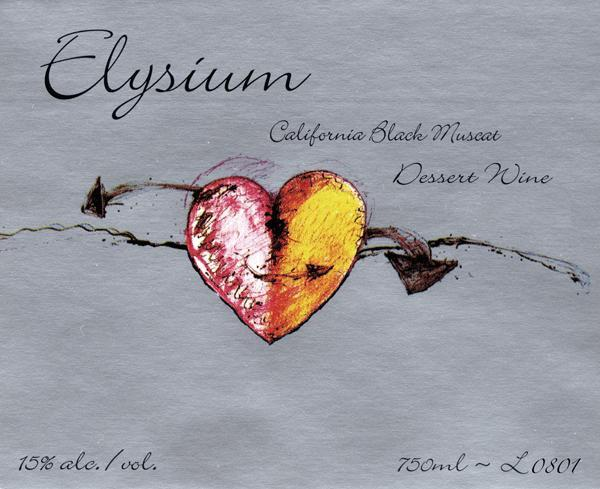 Quady Elysium Black Muscat 2010 750ML - 964031006