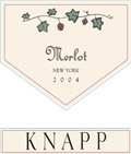 Knapp Winery Merlot Finger Lakes 750ML