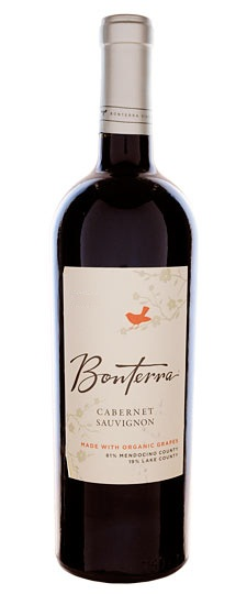 Bonterra Vineyards Cabernet Sauvignon Mendocino County 2010 750ML