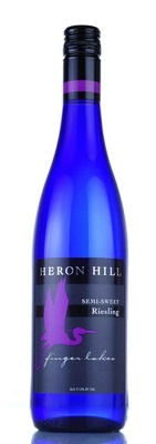 Heron Hill Winery Semi Sweet Riesling Finger Lakes 750ML