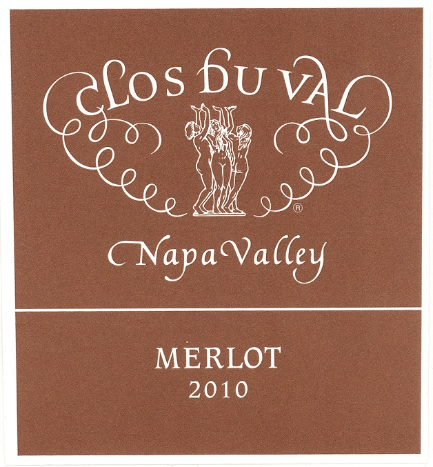 Clos Du Val Merlot Napa Valley 2010 750ML - 962001006