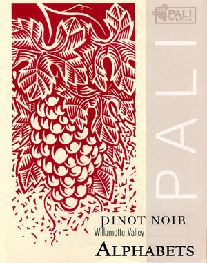 Pali Wine Co. Alphabets Pinot Noir Willamette Valley 2009 750ML - 94T0692809