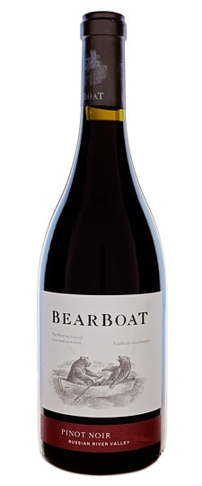 Bearboat Pinot Noir Russian River Valley 2008 750ML