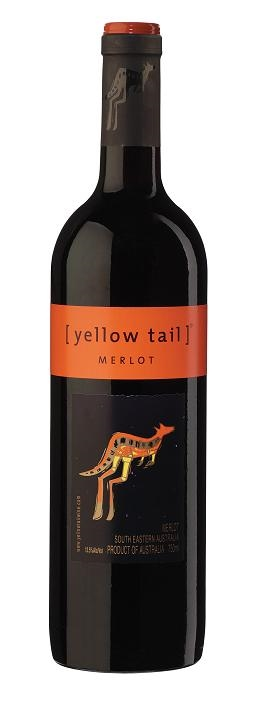 Yellow Tail Merlot South Eastern Australia 750ML