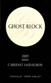 Ghost Block Cabernet Sauvignon Estate Oakville 2009 750ML - 9543801091
