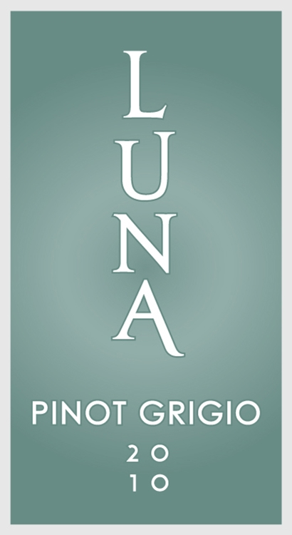Luna Vineyards Pinot Grigio Napa Valley 2010 750ML - 97315339