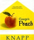 Knapp Winery George's Peach Finger Lakes NV 750ML