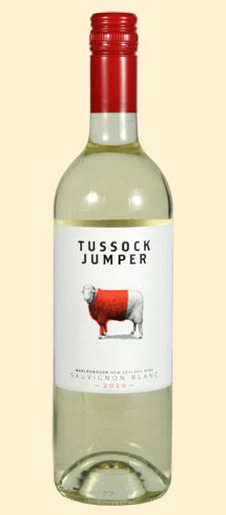 Tussock Jumper Sauvignon Blanc Marlborough 2010 750ML