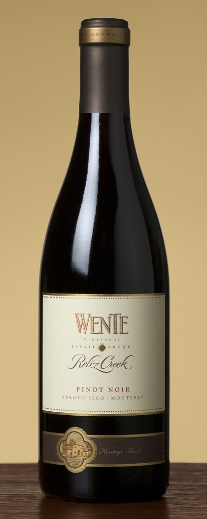 Wente Vineyards Reliz Creek Pinot Noir Arroyo Seco 2010 750ML