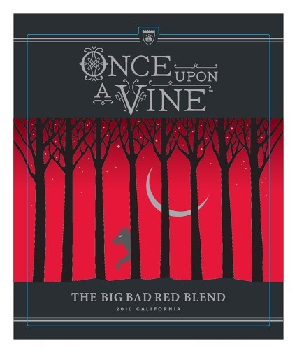 Once Upon A Vine, The Big Bad Red Blend 2010 750ML - 989159351