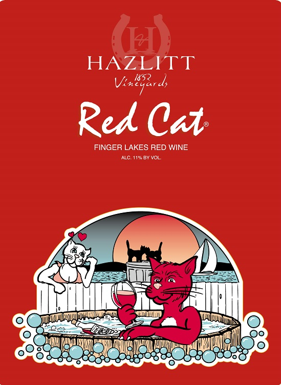 Hazlitt 1852 Red Cat Finger Lakes NV 750ML - 99128284