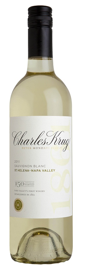 Charles Krug Sauvignon Blanc St. Helena Napa Valley 2013 750ML Bottle