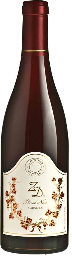 ZD Wines Pinot Noir Carneros 2012 750ML Bottle