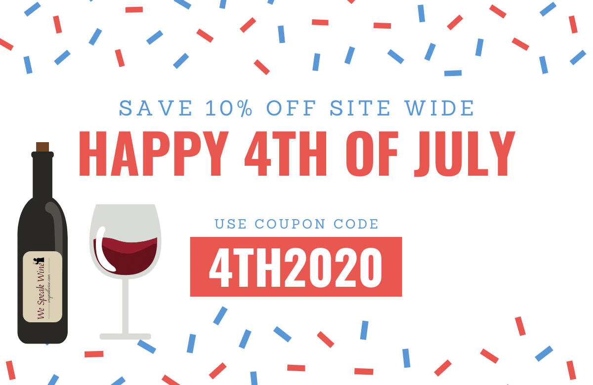 4th of July sale, save 10% off all weekend with coupon code 4TH2020