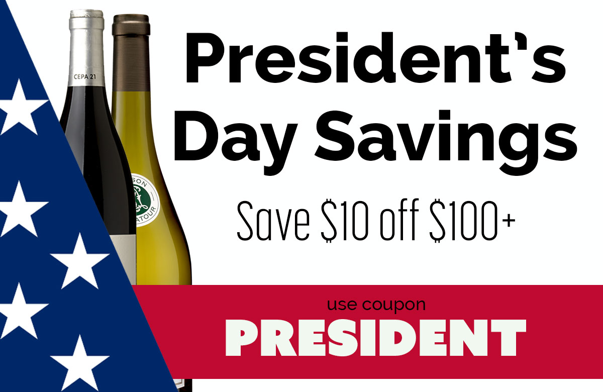 President's Day Sale - Save $10 off orders $100+
