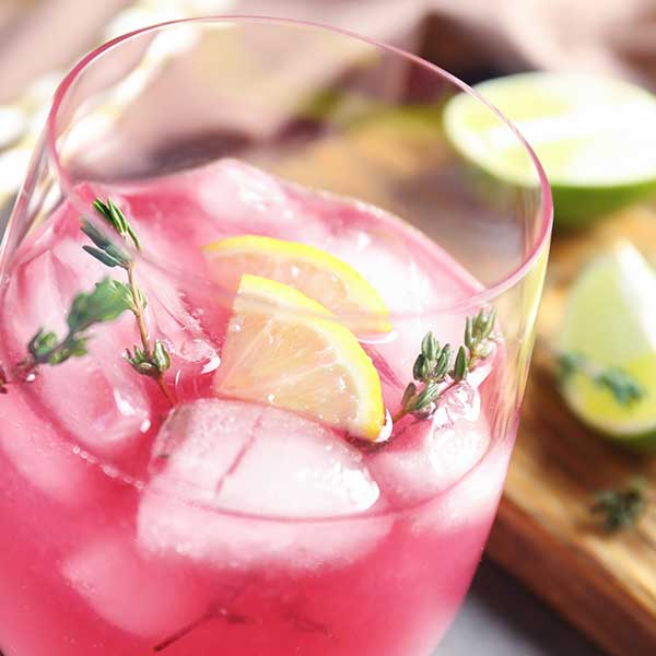 summer wine spritzer