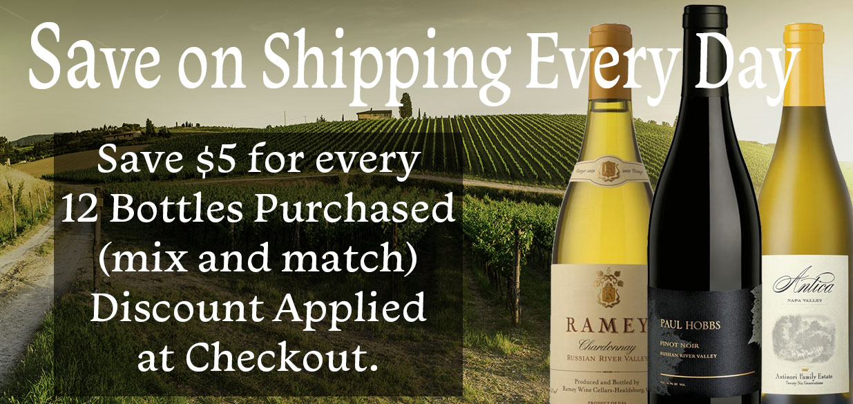 Save $5 for every 12 bottles purchased