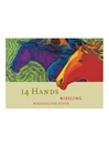 14 Hands Riesling 750ML Label