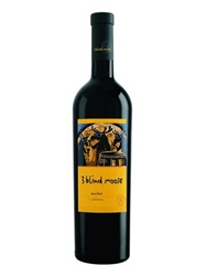 3 Blind Moose Merlot 750ML Bottle