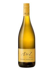 A to Z Pinot Gris Oregon 2013 750ML Bottle