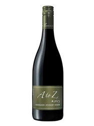 A to Z Winery Pinot Noir Willamette Valley 2013 750ML Bottle