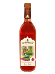 Adirondack Winery Berry Blush (Raspberry White Zinfandel) NV 750ML Bottle