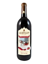 Adirondack Winery Red Carriage (Cranberry Chianti) NV 750ML Bottle