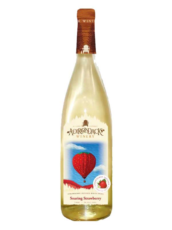 Adirondack Winery Soaring Strawberry NV 750ML Bottle