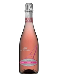 Allure Sparkling Pink Moscato California NV 750ML Bottle