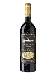 "Anciano Gran Reserva Tempranillo ""Aged 10 Years"" Valdepenas 750ML Bottle"