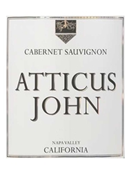 Atticus John Cabernet Sauvignon Napa Valley 2014 750ML Label